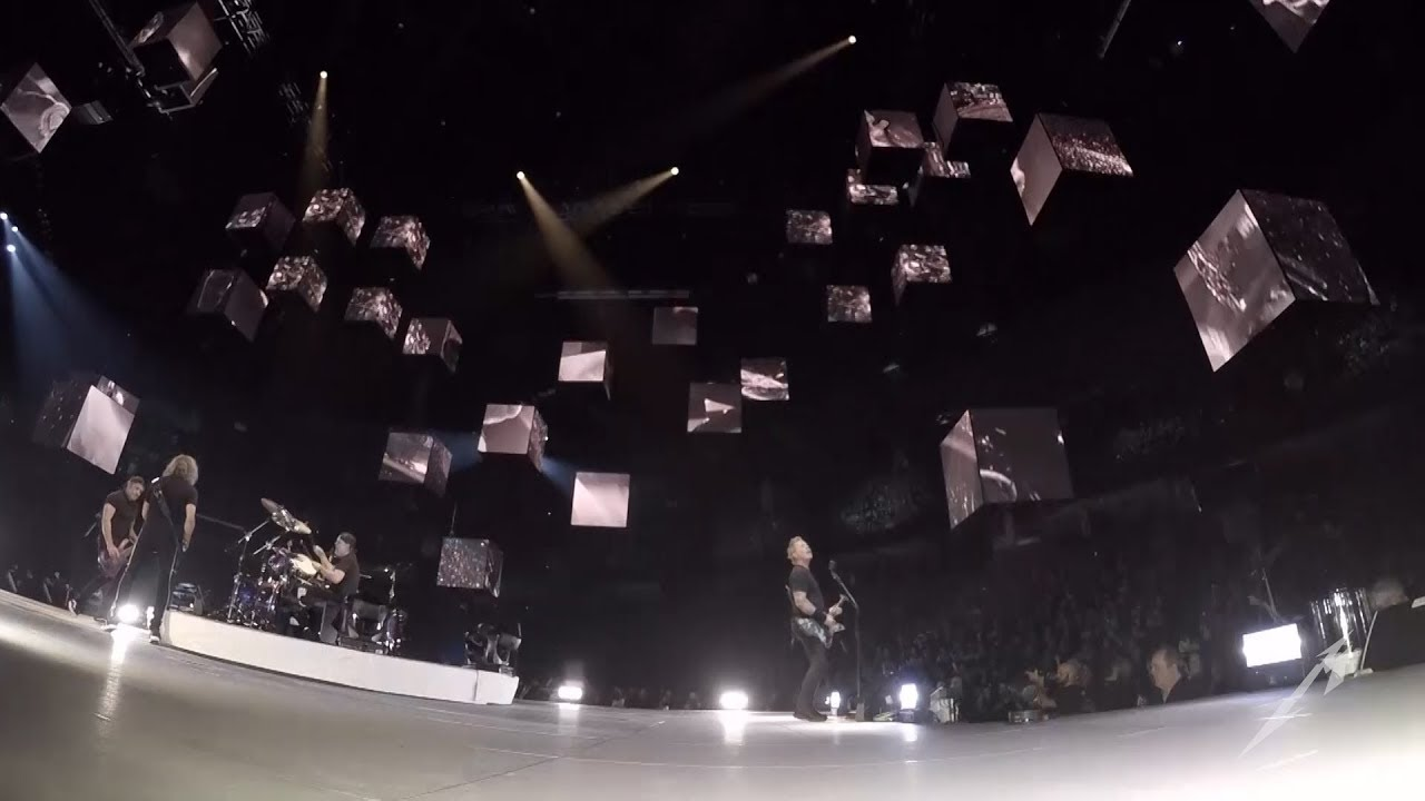 Watch: Metallica performs 'Seek and Destroy' in Spokane, Washington