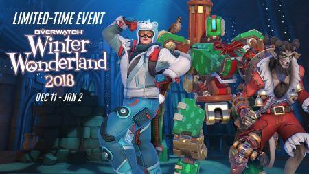 Overwatch 2018 Winter Wonderland event now live