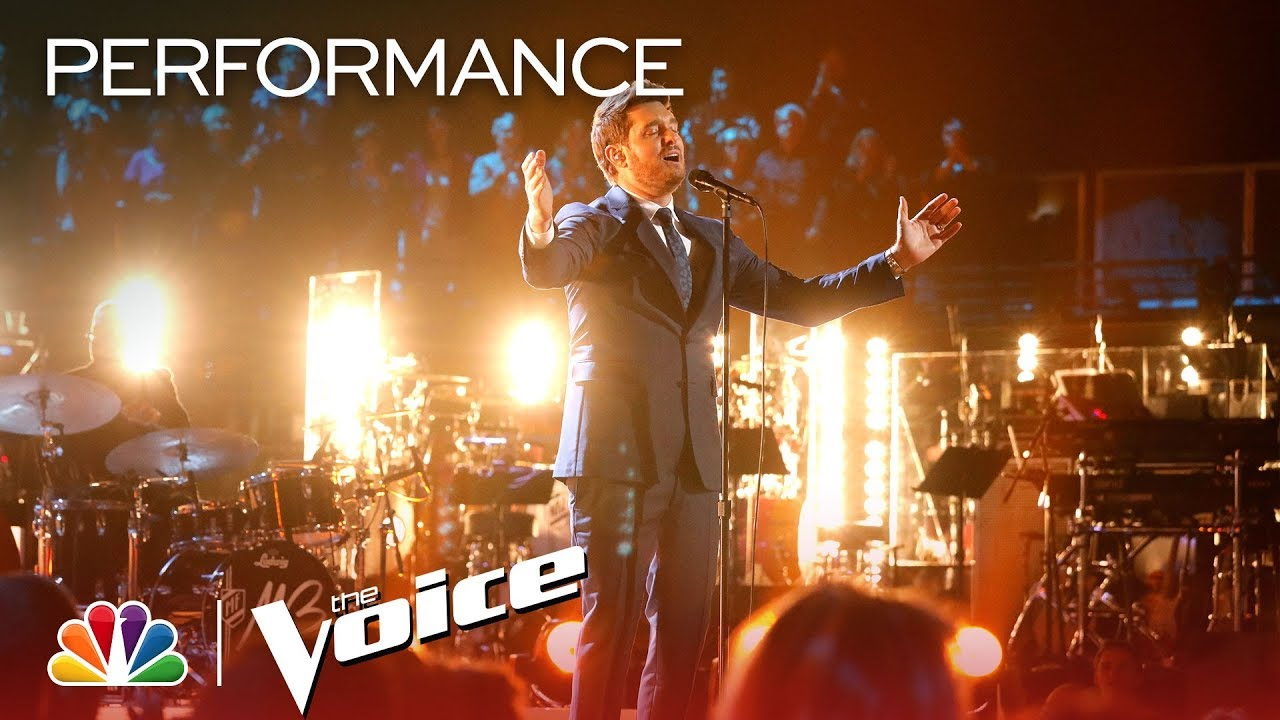 Watch: Michael Bublé performs 'Where or When' on 'The Voice'