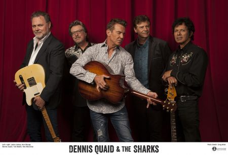 Dennis Quaid and the Sharks
