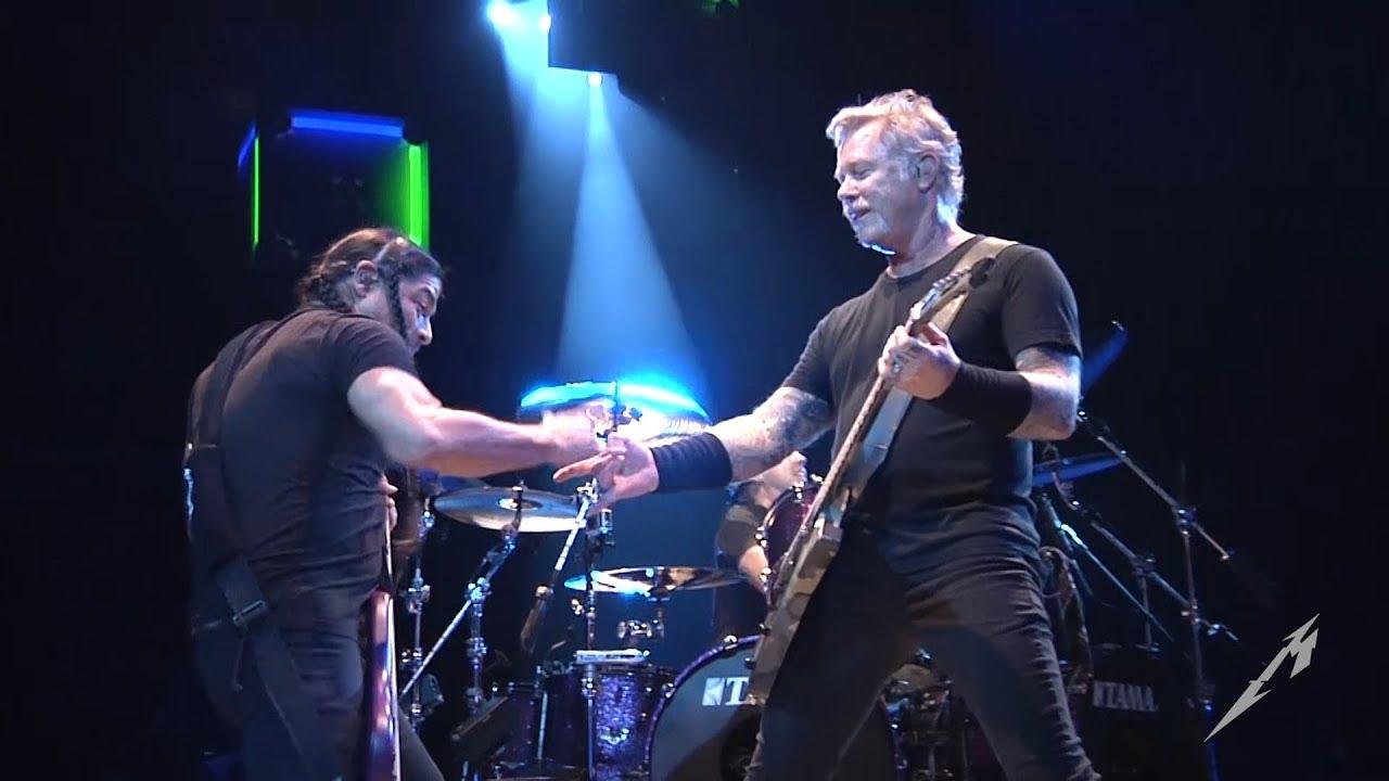 Watch: Metallica performs 'The Shortest Straw' in Sacramento, California