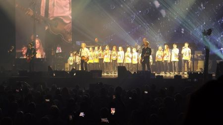 Watch: Paul McCartney busts out 'Wonderful Christmastime' with youth choir in Liverpool