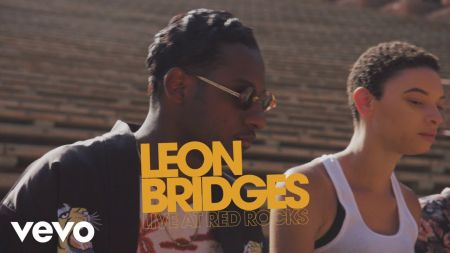 Watch: Leon Bridges shares stunning footage from his 2018 Red Rocks performance