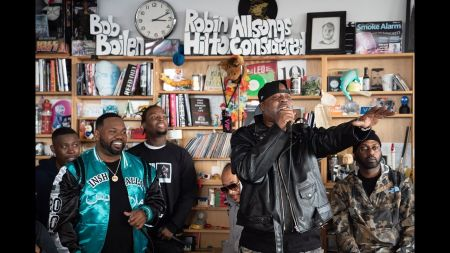 Watch: Wu-Tang Clan performs on NPR Music's 'Tiny Desk Concert'