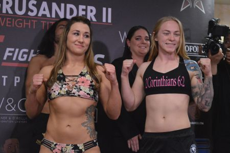 Kay Hansen fights at Invicta FC 33