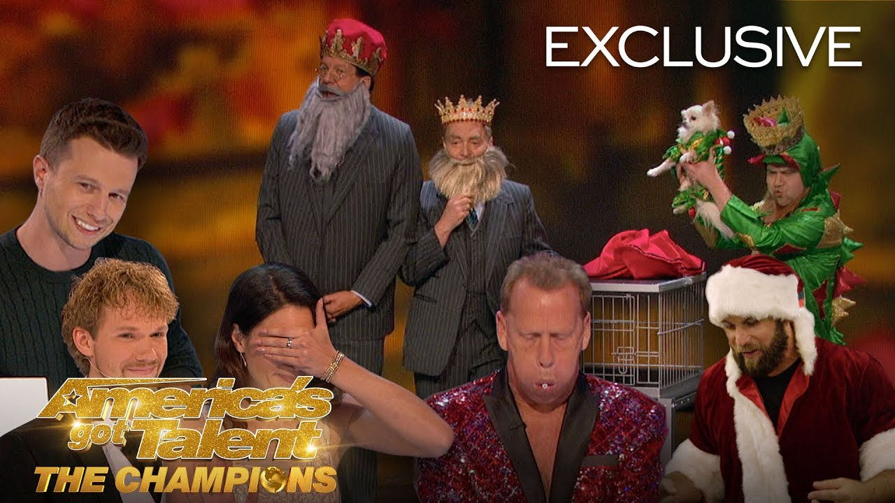 Top 3 best moments from 'America's Got Talent: A Holiday of Champions'