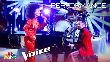 Watch: John Legend & Esperanza Spalding' perform 'Have Yourself a Merry Little Christmas' duet on 'The Voice'