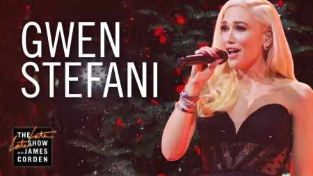 Watch: Gwen Stefani rocks 'You Make It Feel Like Christmas' on 'Corden'