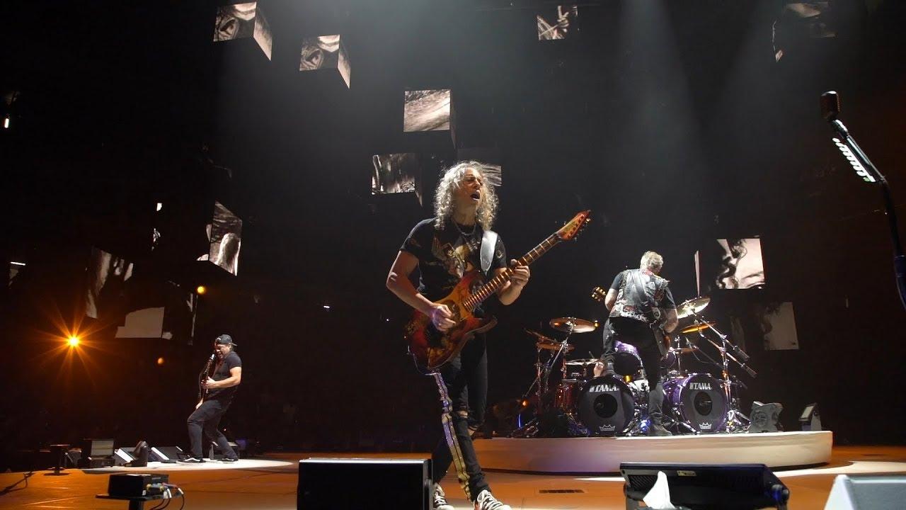 Watch: Metallica performs 'Whiplash' in Sacramento, California
