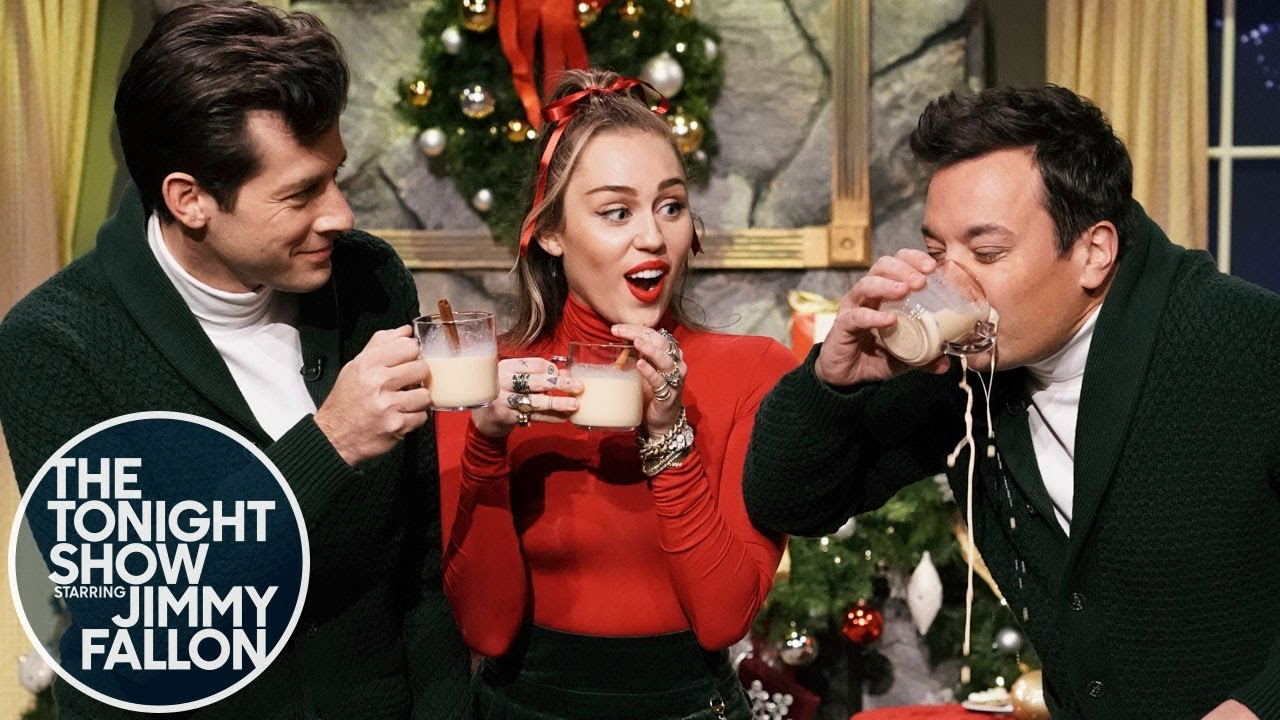 Watch: Miley Cyrus sings empowering new 'Santa Baby' on 'Fallon'