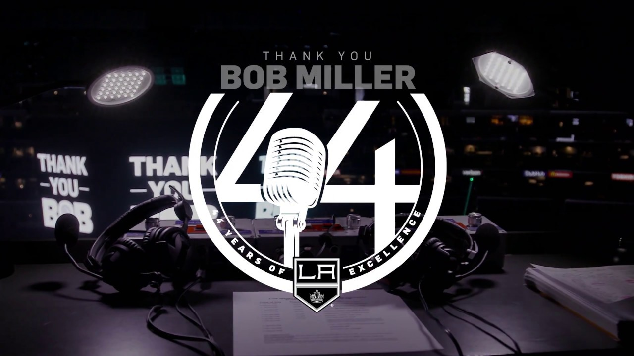 2018-19 LA Kings promotional night: Bob Miller mini-statue giveaway night on Jan. 3