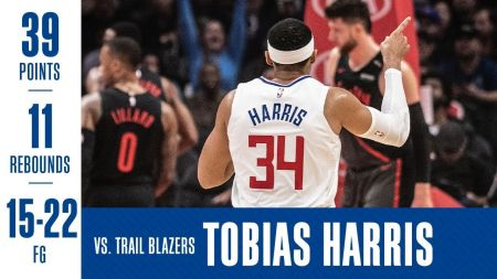 2018-19 LA Clippers promotional schedule: Tobias Harris headband giveaway Jan. 12