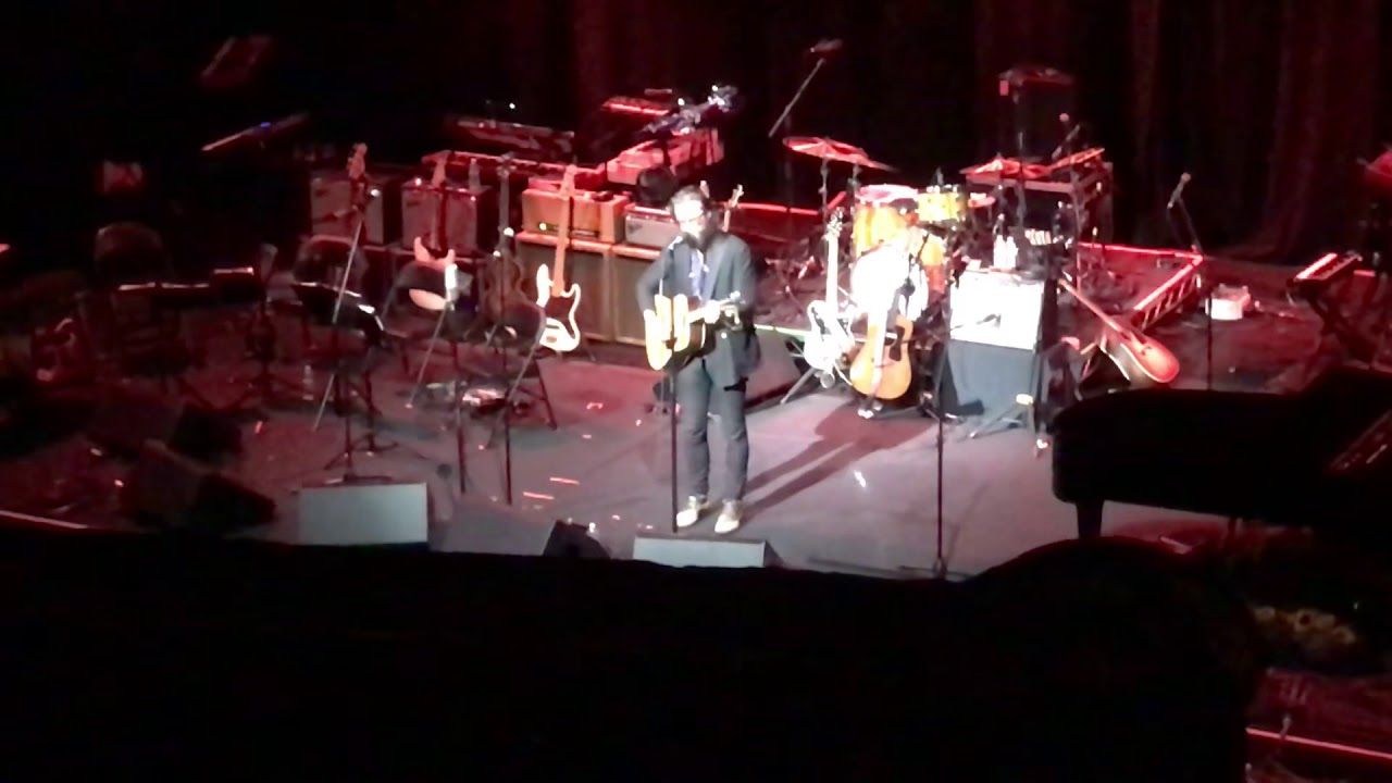 Watch: Father John Misty debuts new song, jams with Beck at California wildfire benefit