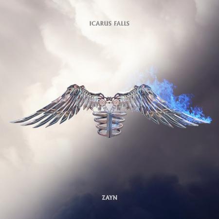 """Zayn """"Icarus Falls"""" album cover"""