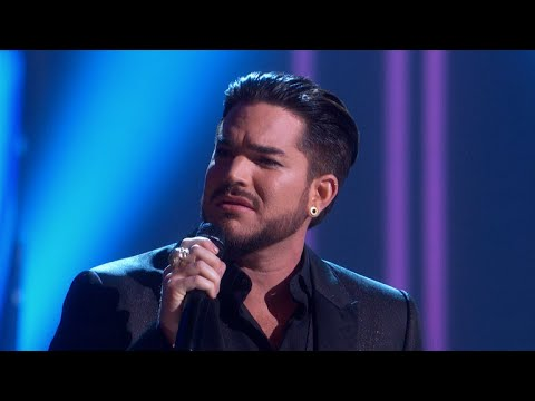 watch adam lambert makes cher cry with believe cover at 2018