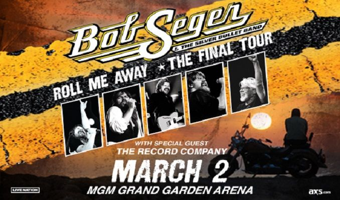 Bob Seger & The Silver Bullet Band tickets at MGM Grand Garden Arena in Las Vegas