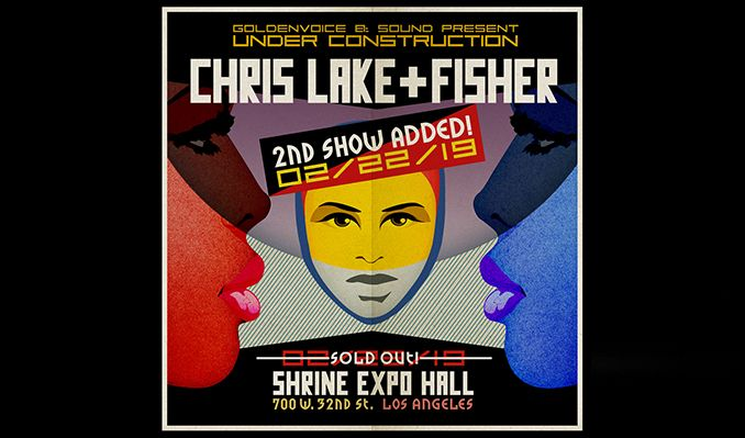 Fisher x Chris Lake (Extended Set) - 2nd Show Added! tickets at Shrine Expo Hall in Los Angeles