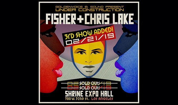 Chris Lake x Fisher (Extended Set) tickets at Shrine Expo Hall in Los Angeles
