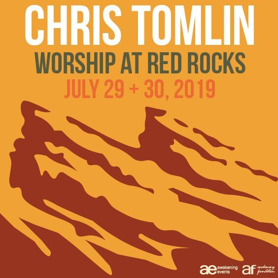 Chris Tomlin Worship At Red Rocks Red Rocks