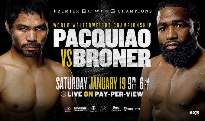 Manny Pacquiao vs Adrien Broner tickets at MGM Grand Garden Arena in Las Vegas