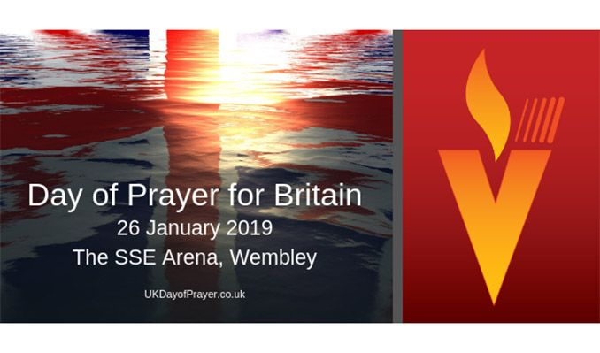 National Day of Prayer for Britain tickets at The SSE Arena, Wembley, London
