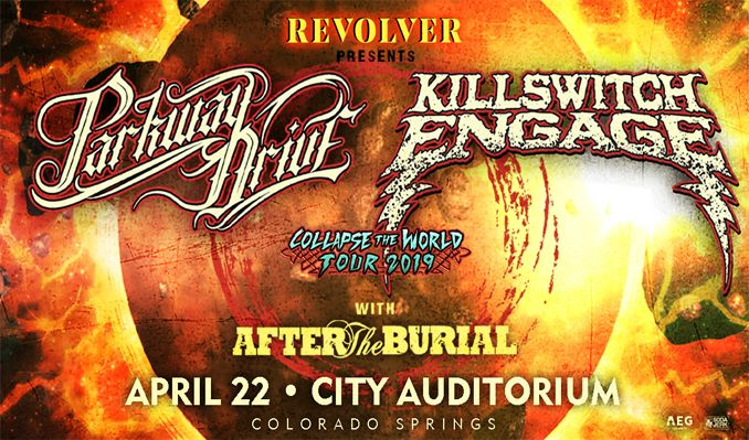 Parkway Drive / Killswitch Engage tickets at City Auditorium in Colorado Springs