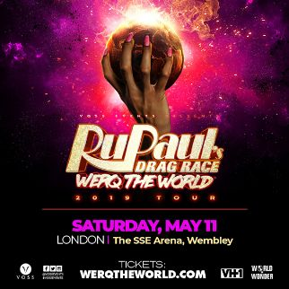 Ru Paul's Drag Race: WERQ The World Tour