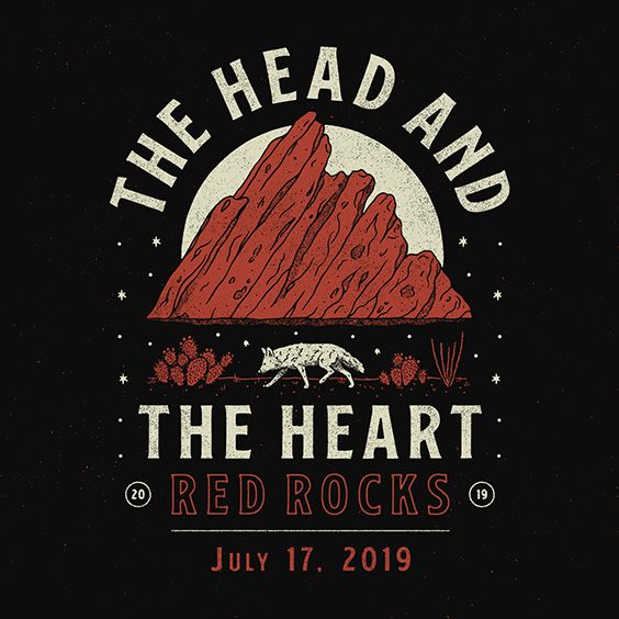 The Head And The Heart Red Rocks Entertainment Concerts