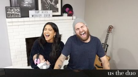 Watch: Us the Duo perform annual medley of hits with fun 2018 mashup