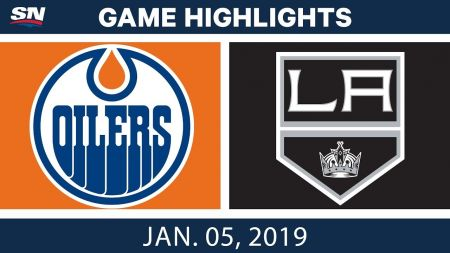 LA Kings best plays from Jan. 5 game against Edmonton Oilers