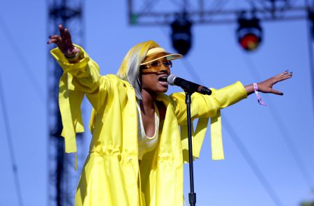 Dej Loaf Performing at the 2018 Coachella Valley Music And Arts Festival (April 22, 2018)