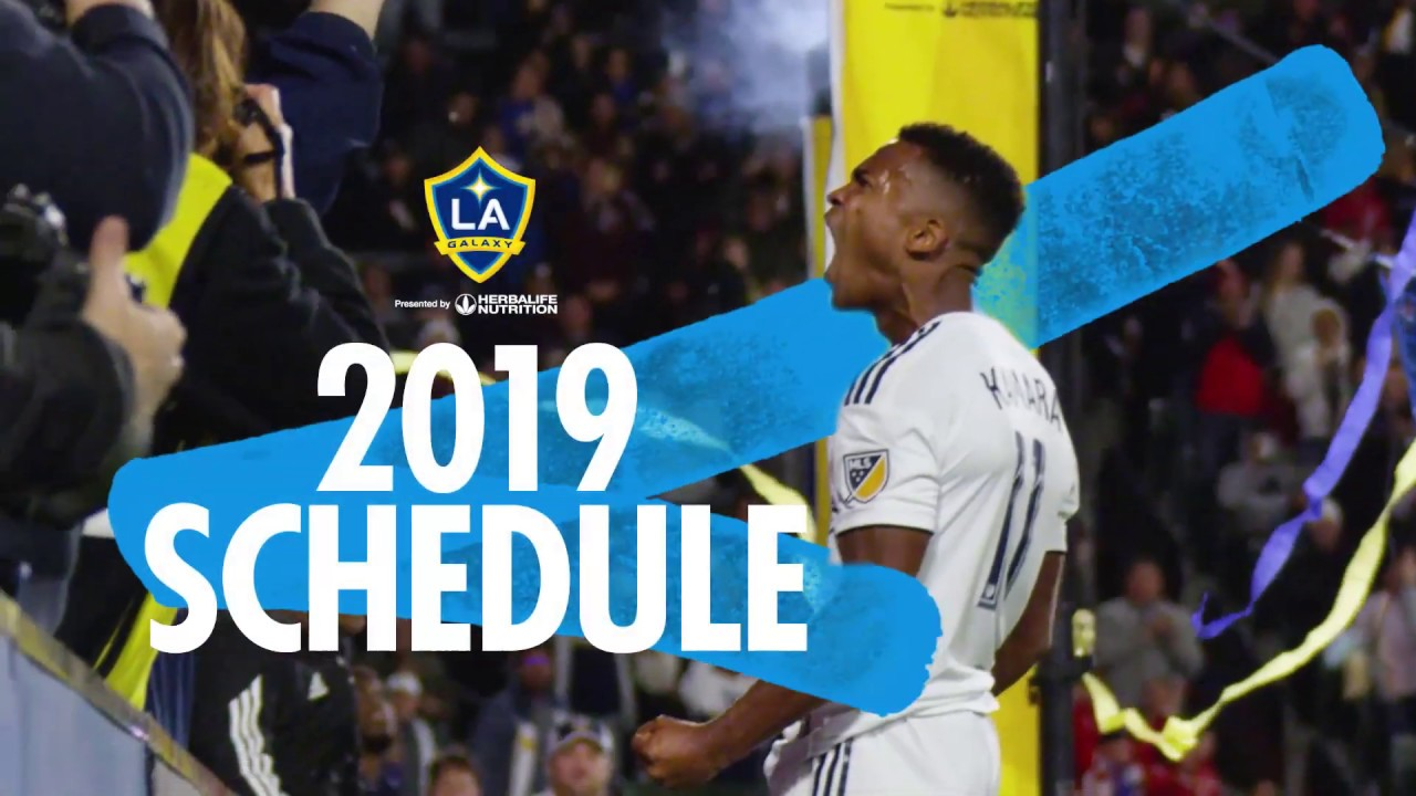 2019 LA Galaxy schedule and tickets announced