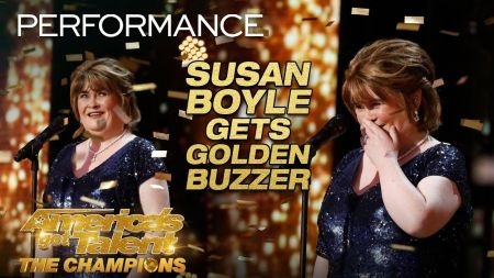 Susan Boyle earns standing ovation on 'America's Got Talent: Champions'