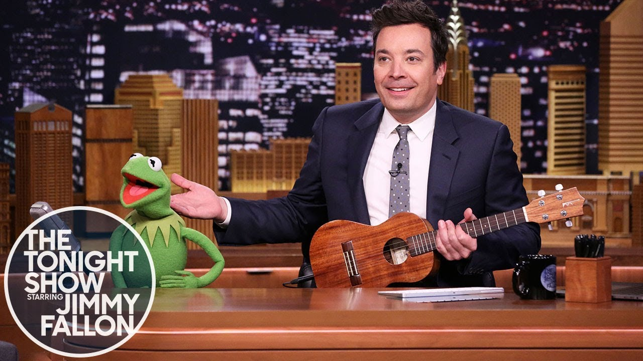 Watch: Jimmy Fallon and Kermit perform 'Rainbow Connection' to announce 2019 Doodle 4 Google theme
