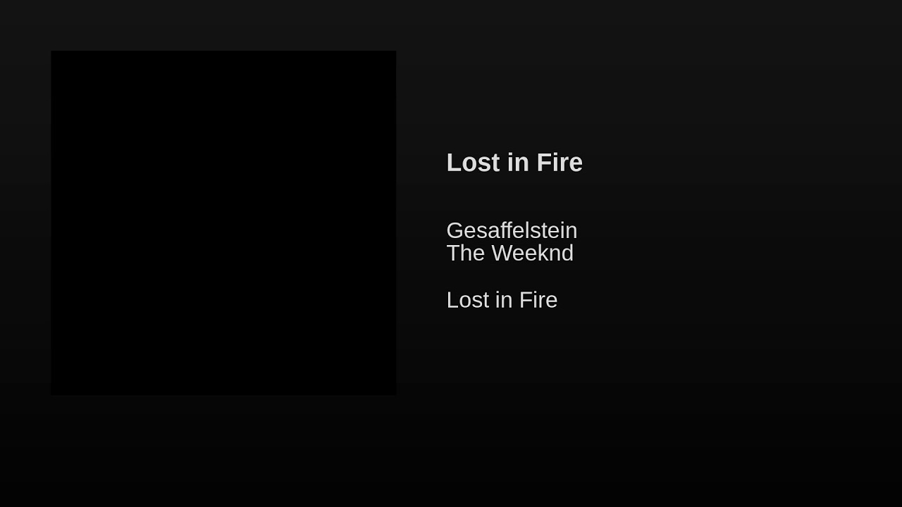 Listen: Gesaffelstein & The Weeknd bring heat on new single 'Lost in the Fire'