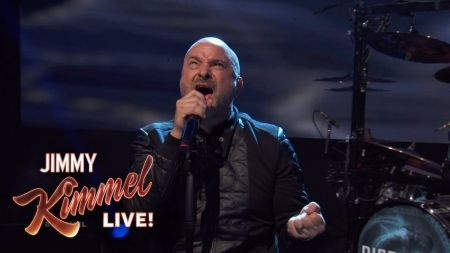 Watch: Disturbed performs mini-set for fans on 'Kimmel'