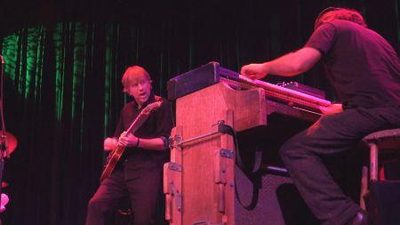 Watch: Trey Anastasio jams with TAB bandmates Ray Paczkowski and Russ Lawton in NYC