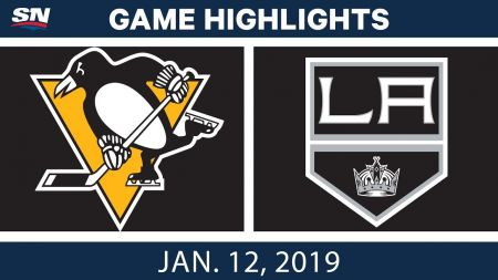 LA Kings best plays from Jan. 12 game against Pittsburgh Penguins
