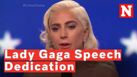 Watch: Lady Gaga dedicates Best Actress Critics' Choice Award to those struggling with addiction