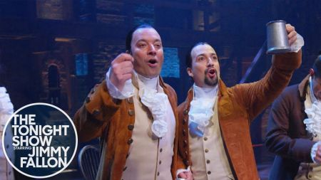 Watch: Jimmy Fallon airs clip of 'Tonight Show' in Puerto Rico feat. Lin-Manuel, Bad Bunny and a monster zip line