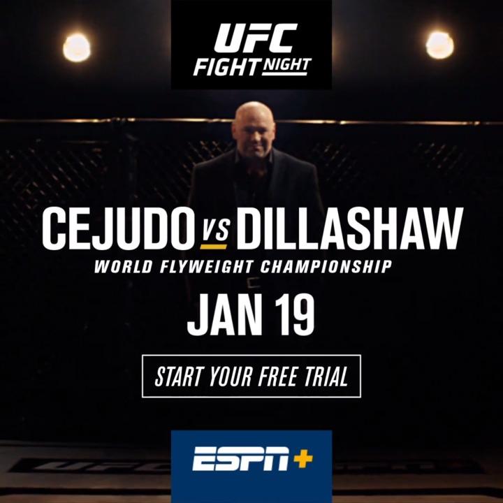 Watch UFC Brooklyn for free on ESPN+