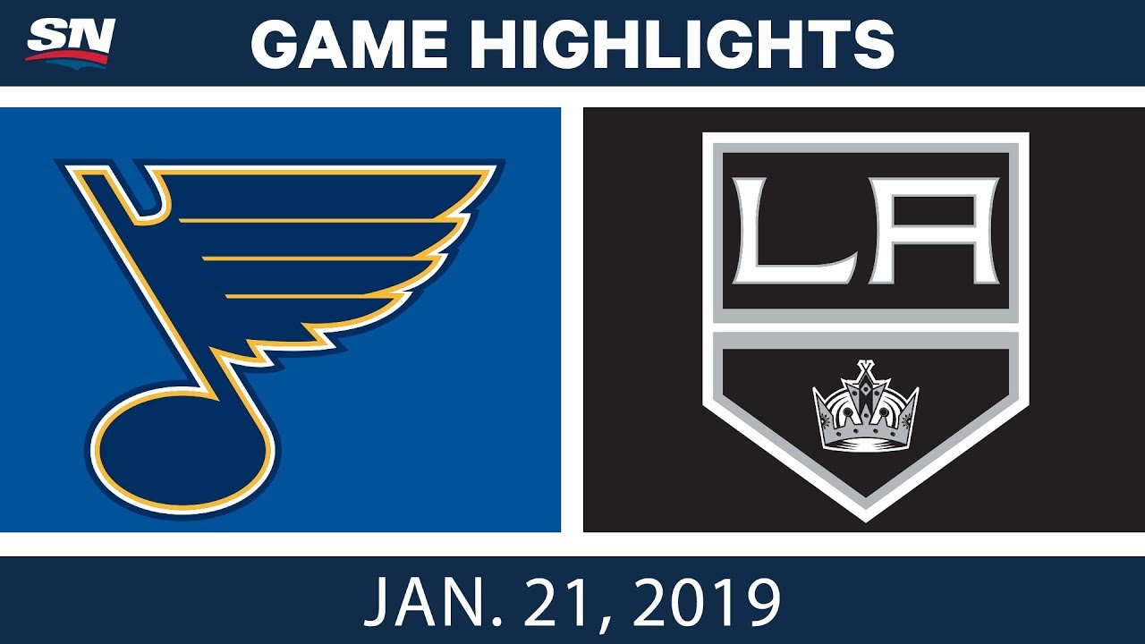 LA Kings best plays from Jan. 21 game against St. Louis Blues