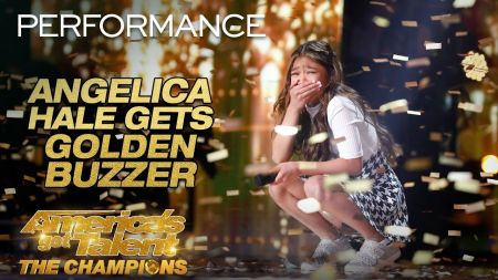Watch: Angelica Hale earns Golden Buzzer for epic 'Fight Song' performance on 'AGT: Champions'