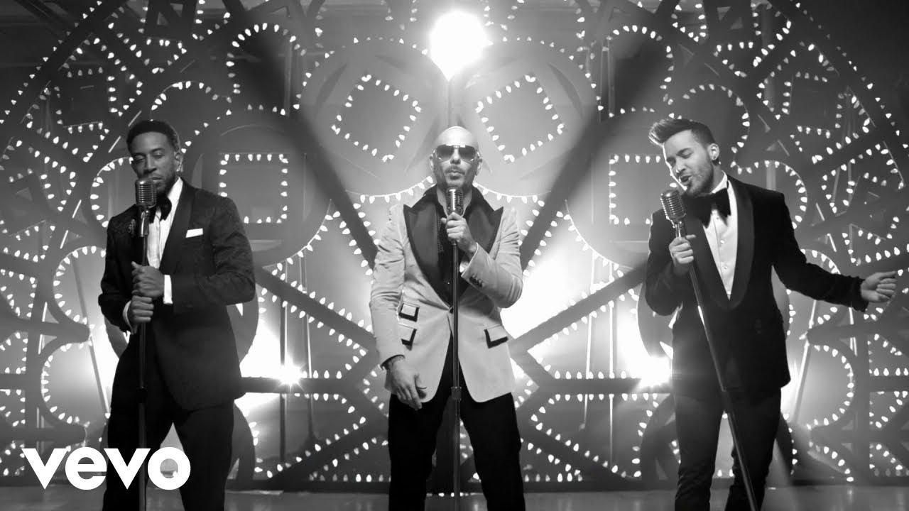 Pitbull, Prince Royce & Ludacris film movies in 'Quiero Saber' music video