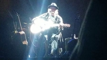 Watch: Neil Young plays classics, debuts new songs at solo acoustic tour opener