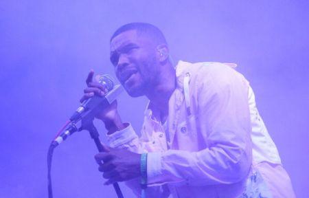 Frank Ocean Performing at2014 Bonnaroo Music & Arts Festival (June 14, 2014)