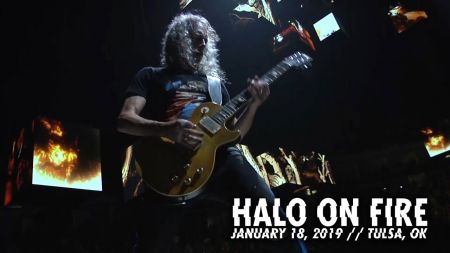 Watch: Metallica performs 'Halo on Fire' in Tulsa, Oklahoma