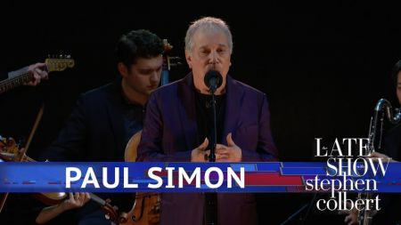 Watch: Paul Simon performs two revised songs from 'In the Blue Light' on 'Colbert'