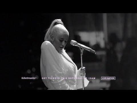 Christina Aguilera announces her Las Vegas residency The Xperience