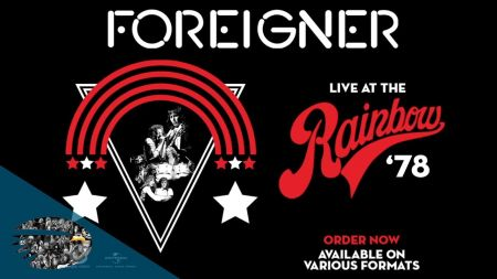 Watch: Foreigner unveils teaser for new archive release 'Live at the Rainbow '78'